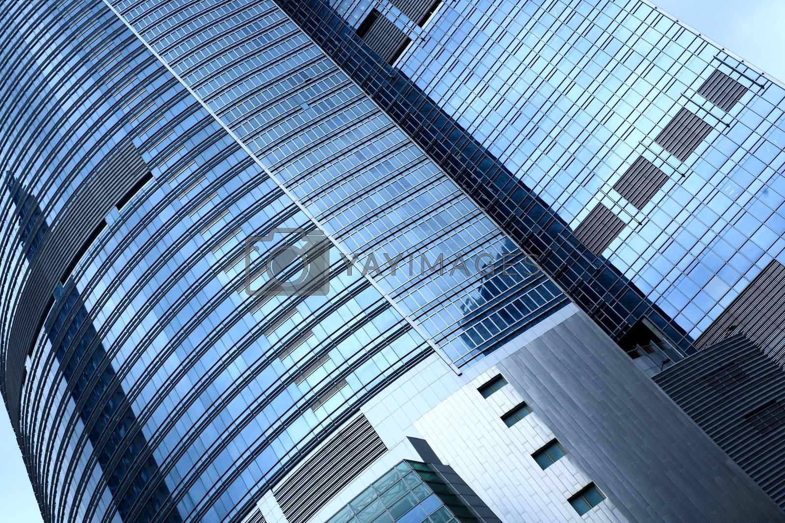 business building exterior by leungchopan