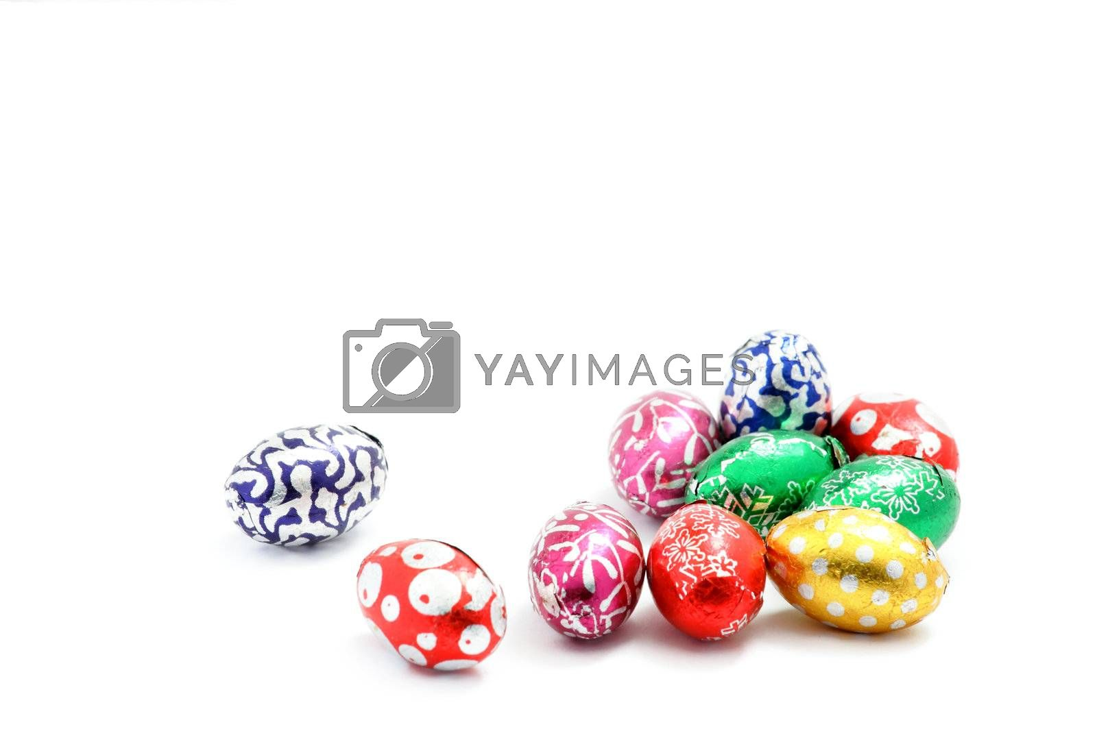 Royalty free image of Colorful easter eggs by leungchopan