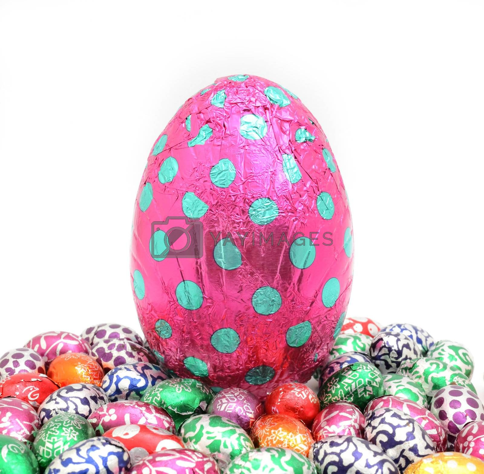 Royalty free image of easter egg by leungchopan