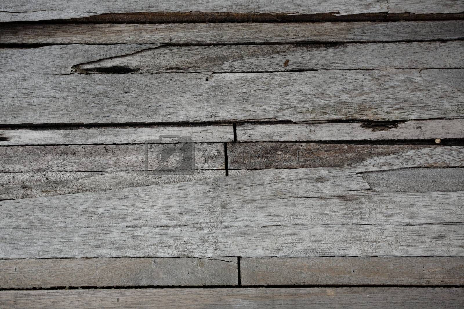 Royalty free image of old wood background by leungchopan