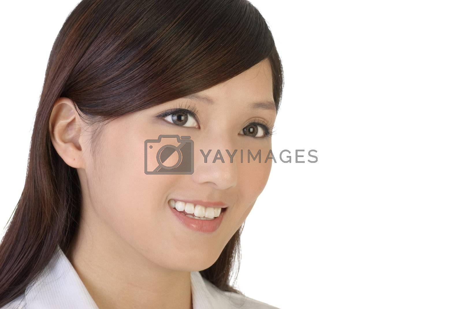 Royalty free image of Smile businesswoman by elwynn