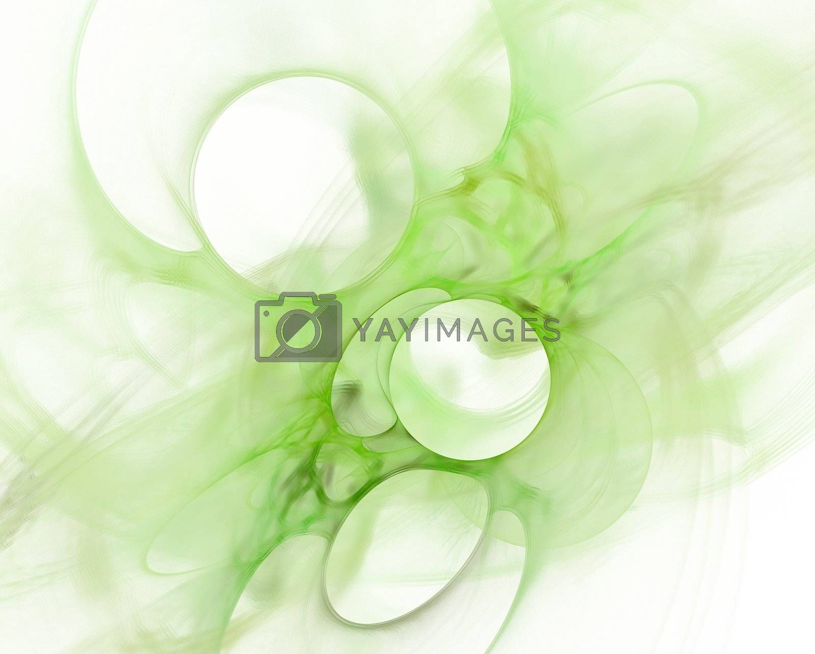 Royalty free image of Abstract green background by tomatto