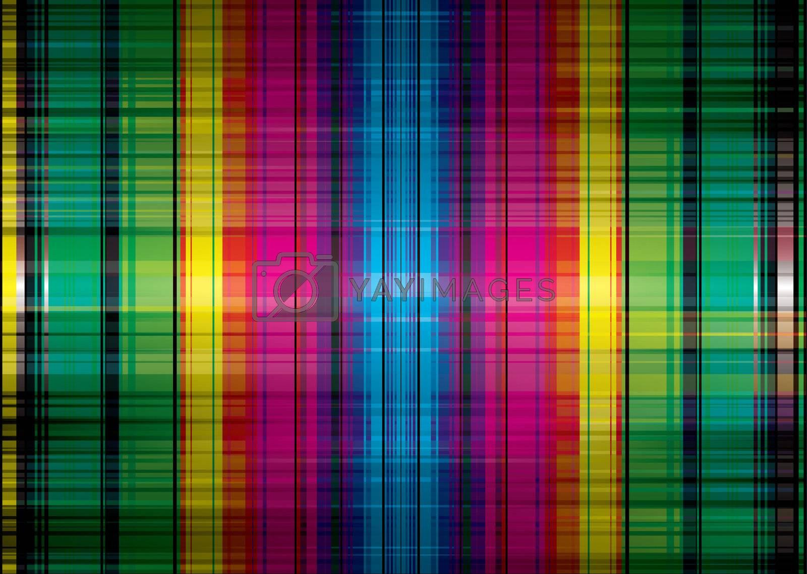 Royalty free image of rainbow band grunge background by nicemonkey