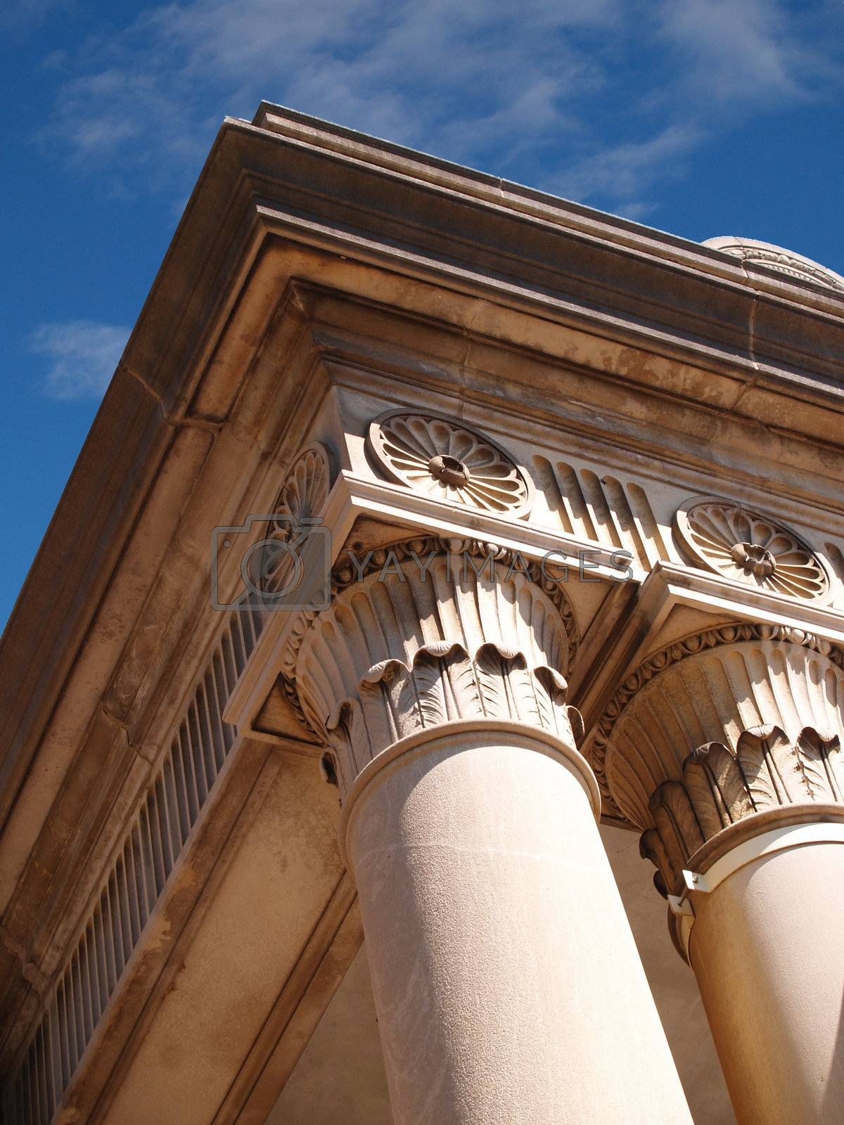 beautiful detailed carvings for outdoor columns