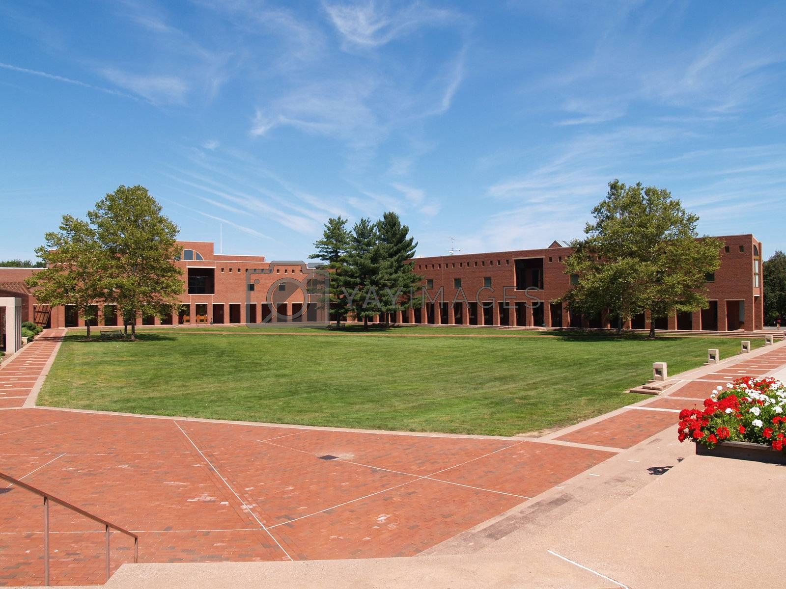 Gray Center on the campus of the University of Hartford in West Hartford, Connecticut