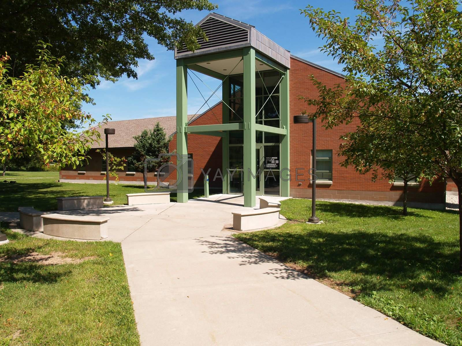 The Computer/Technical building for the University of Hartford, Greater Hartford Campus.