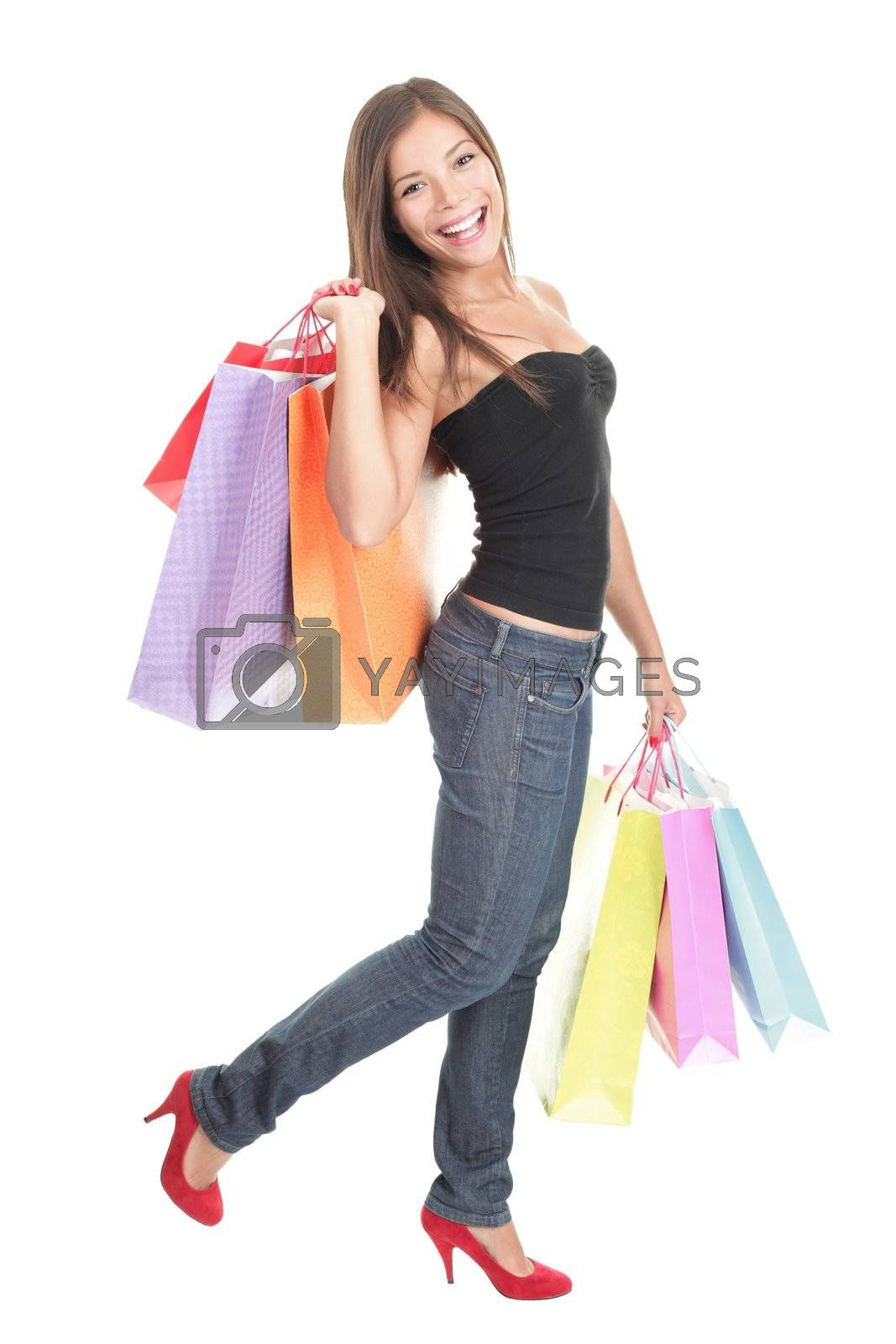 Shopping woman by Ariwasabi