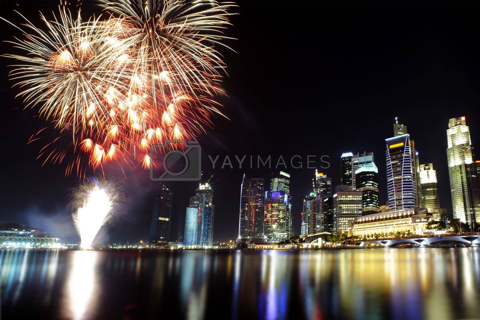 Party time in the Southeast Asian city of Singapore