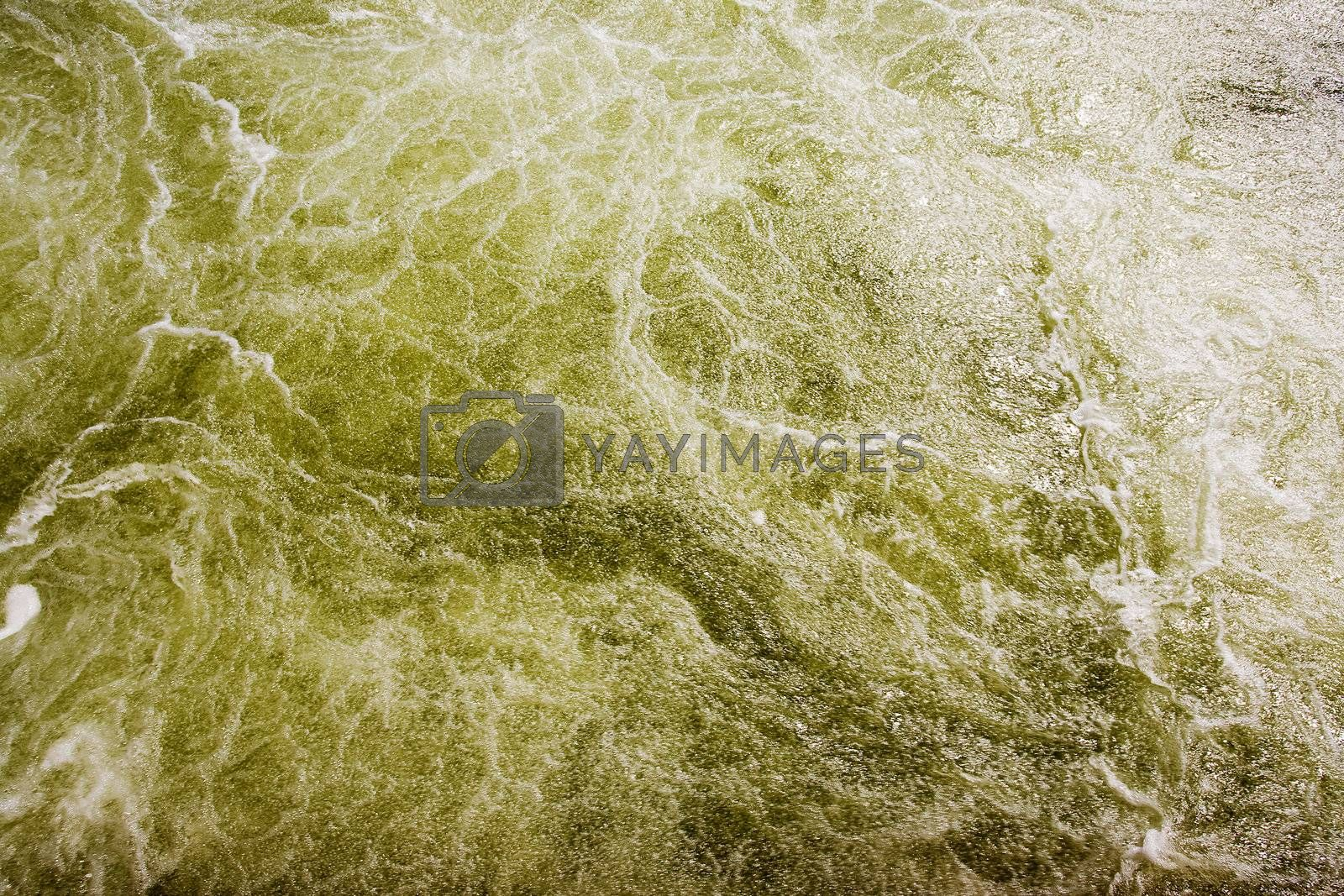 White water rapids background texture