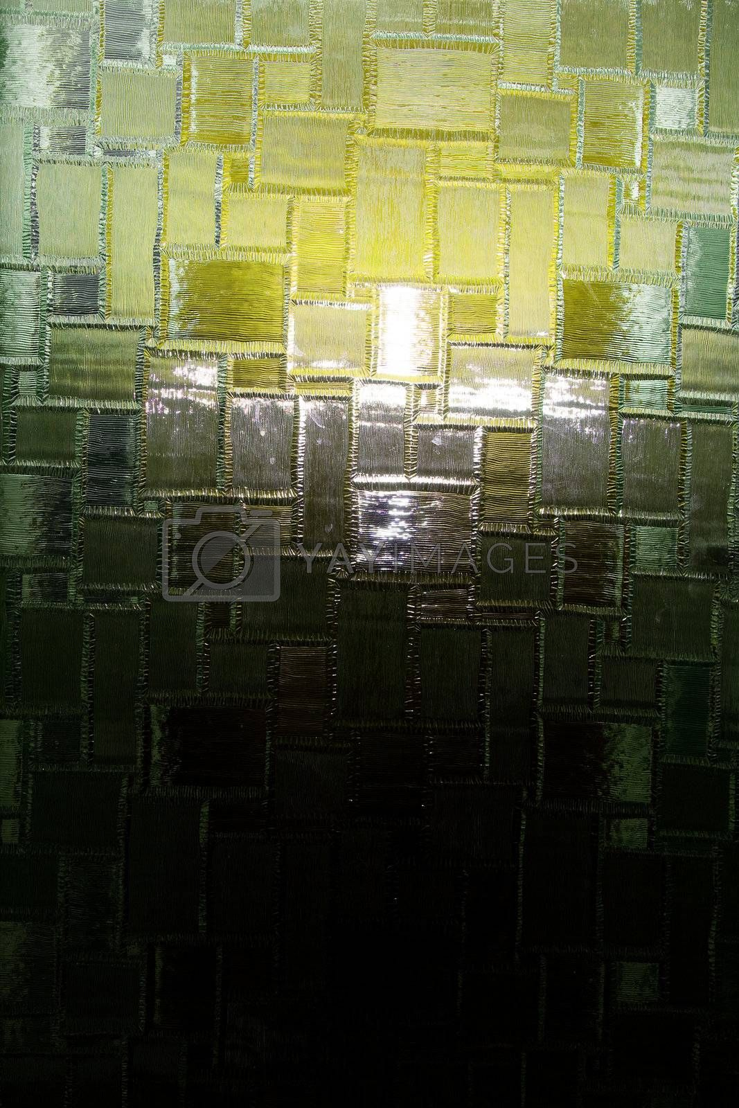 Glass window texture - a hatched pattern