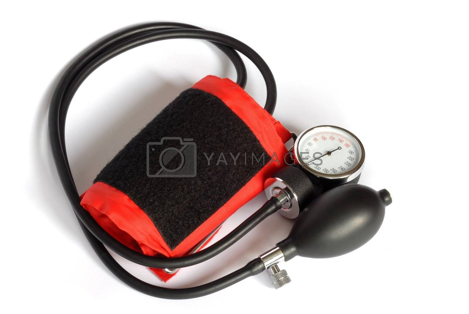 Isolated blood pressure meter