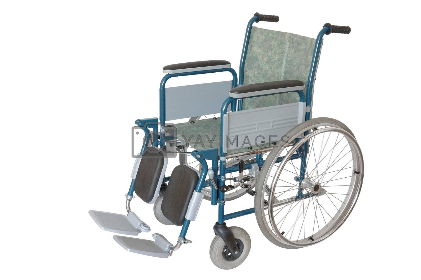 Isolated wheelchair