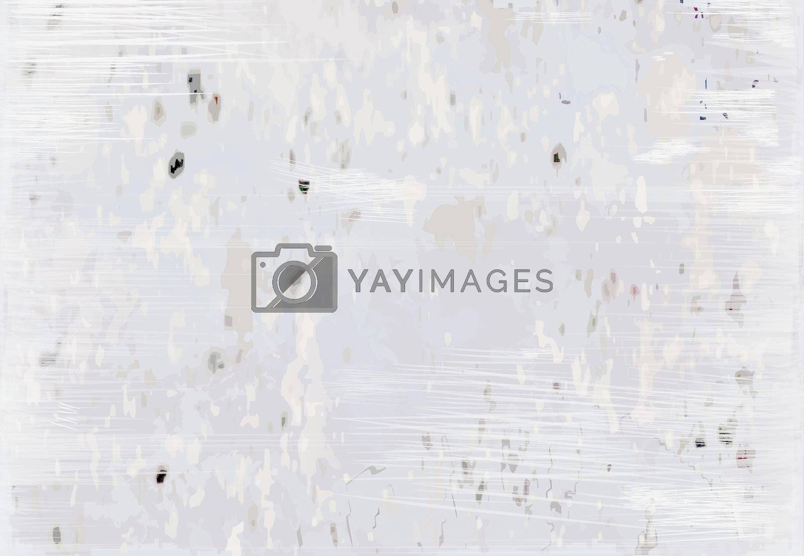 abstract gray grunge background, illustration