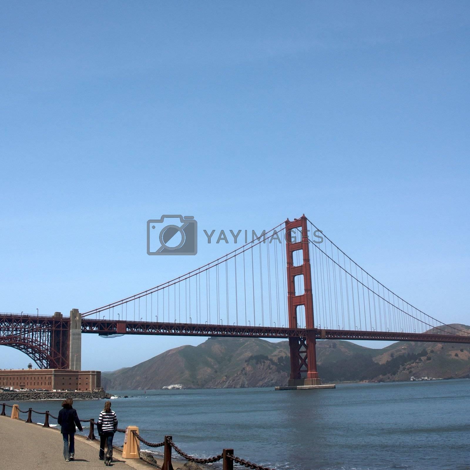 California, San Francisco, Golden Gate Bridge by jedphoto