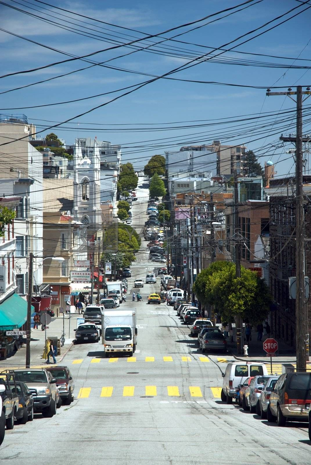 Streets of San Francisco by jedphoto