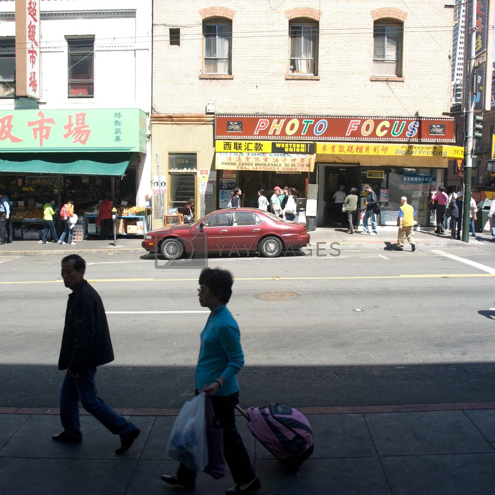 USA, California, San Francisco, Chinatown