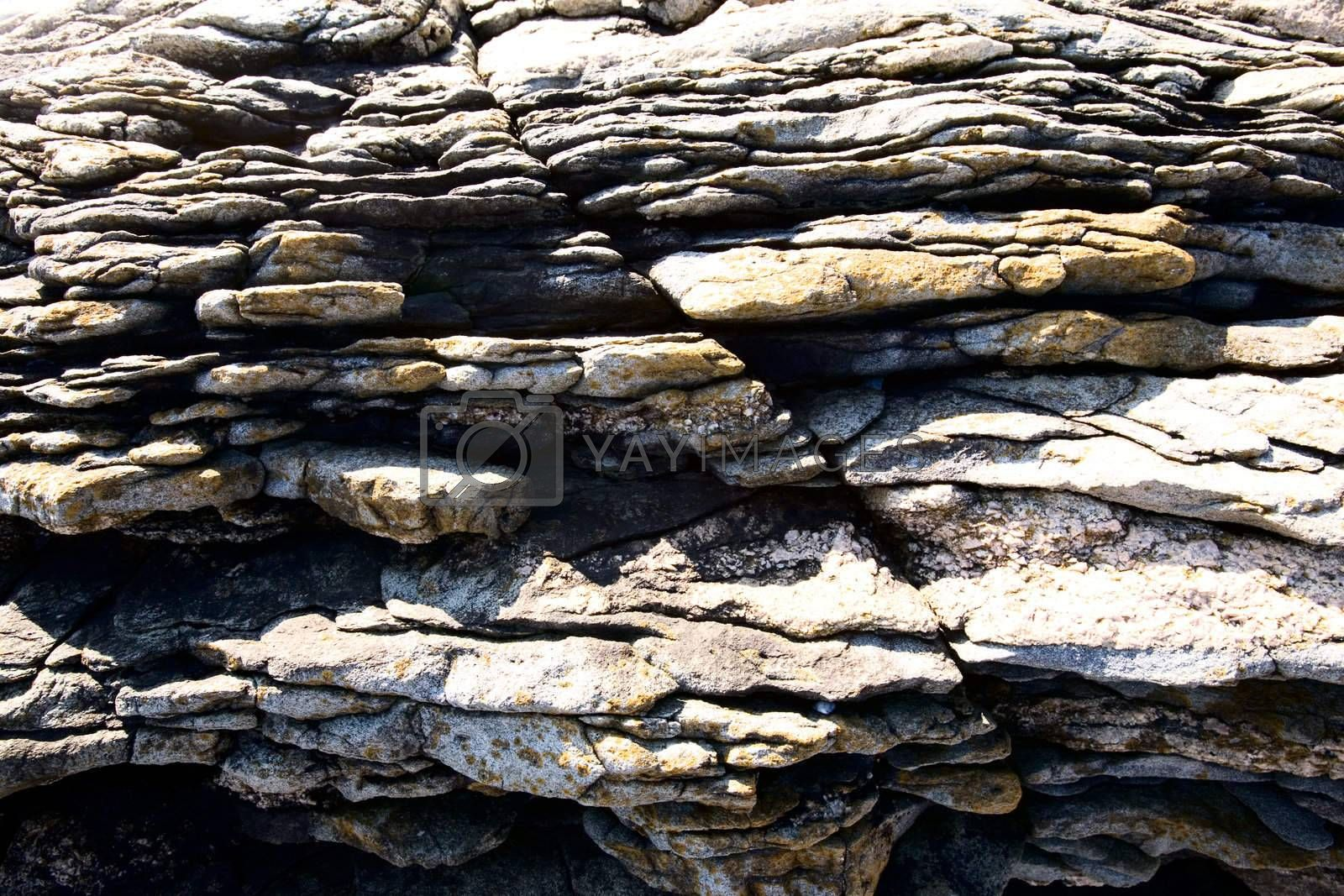 Background image of jagged rocks