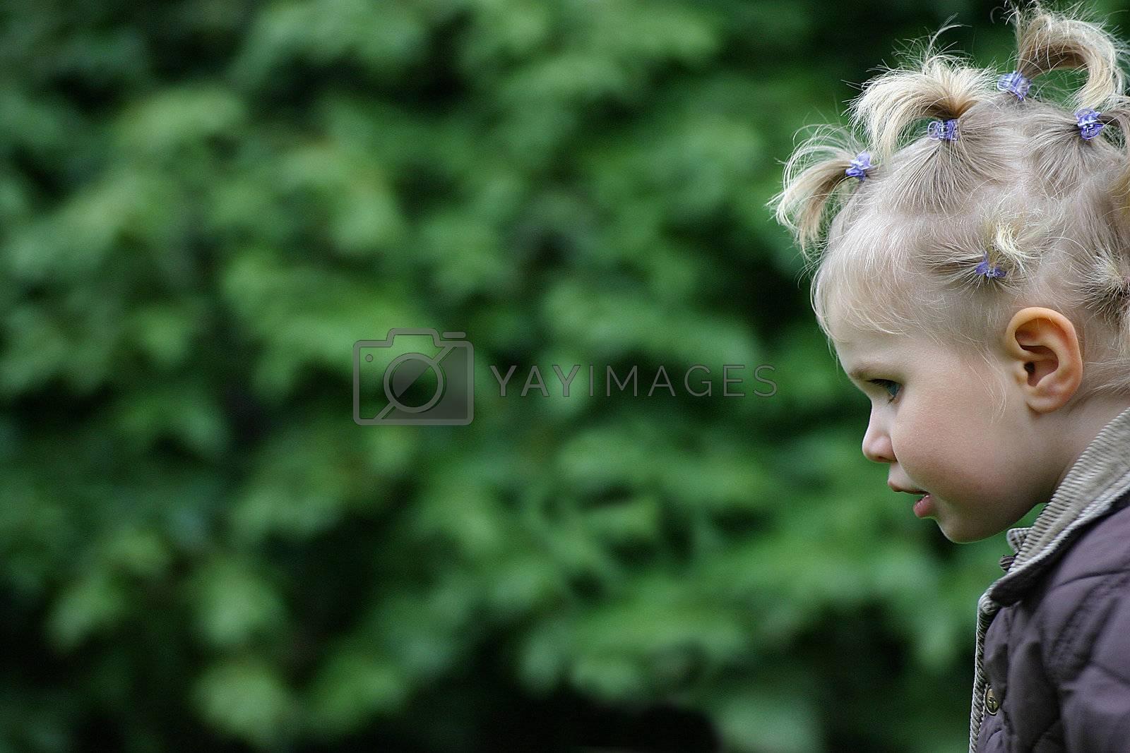 child's hair
