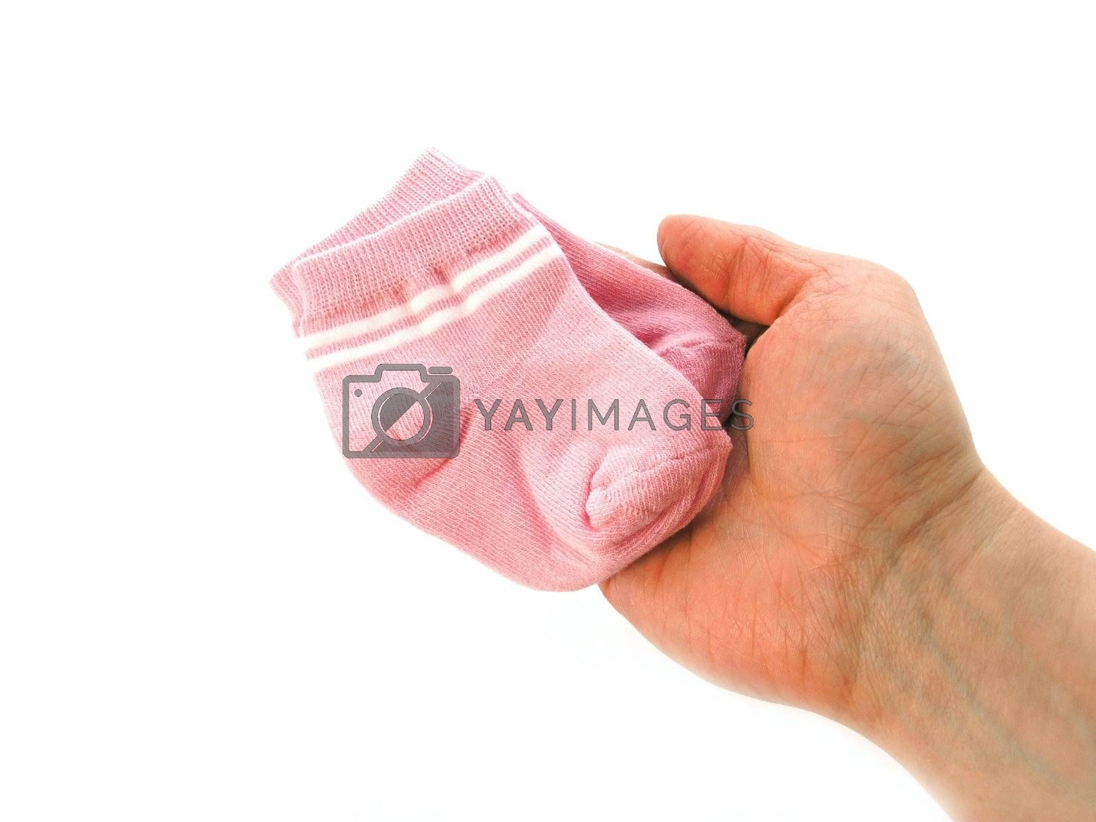 little socks for a young lady