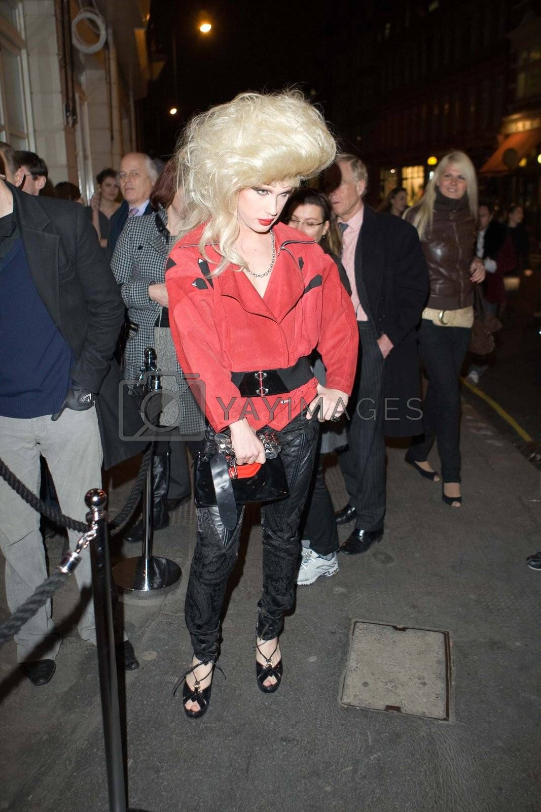 Jodie Harsh at the 1st. anniversary party of Kitts nightclub in Sloane Square Chelsea London. 5th March 2008
