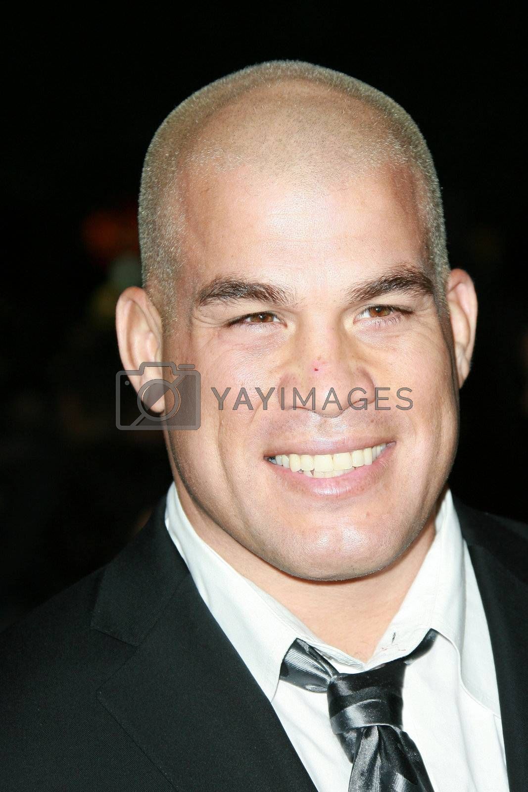 Tito Ortiz  at the Sleepwalking Premiere held at the Directors Guild of America, Hollywood.