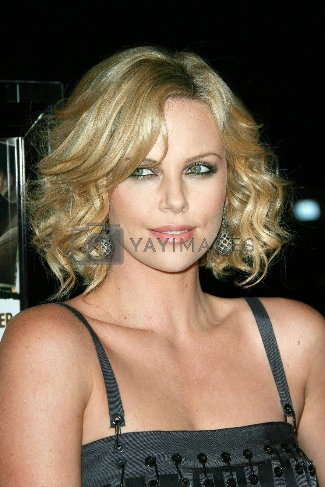 Charlize Theron   at the Sleepwalking Premiere held at the Directors Guild of America, Hollywood.