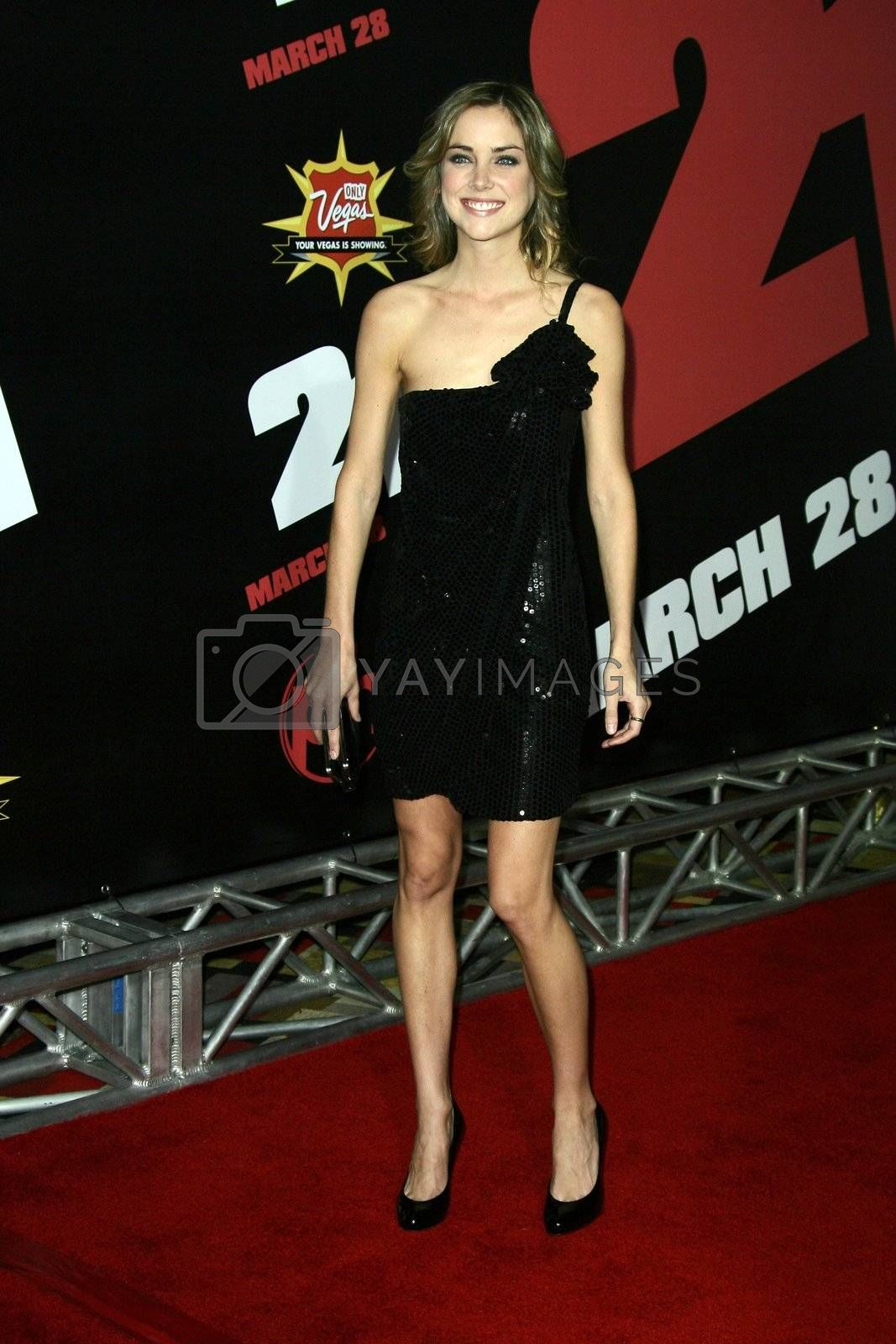 US premiere of '21' held at Planet Hollywood Hotel and Casino in Las Vegas - 12 March 2008