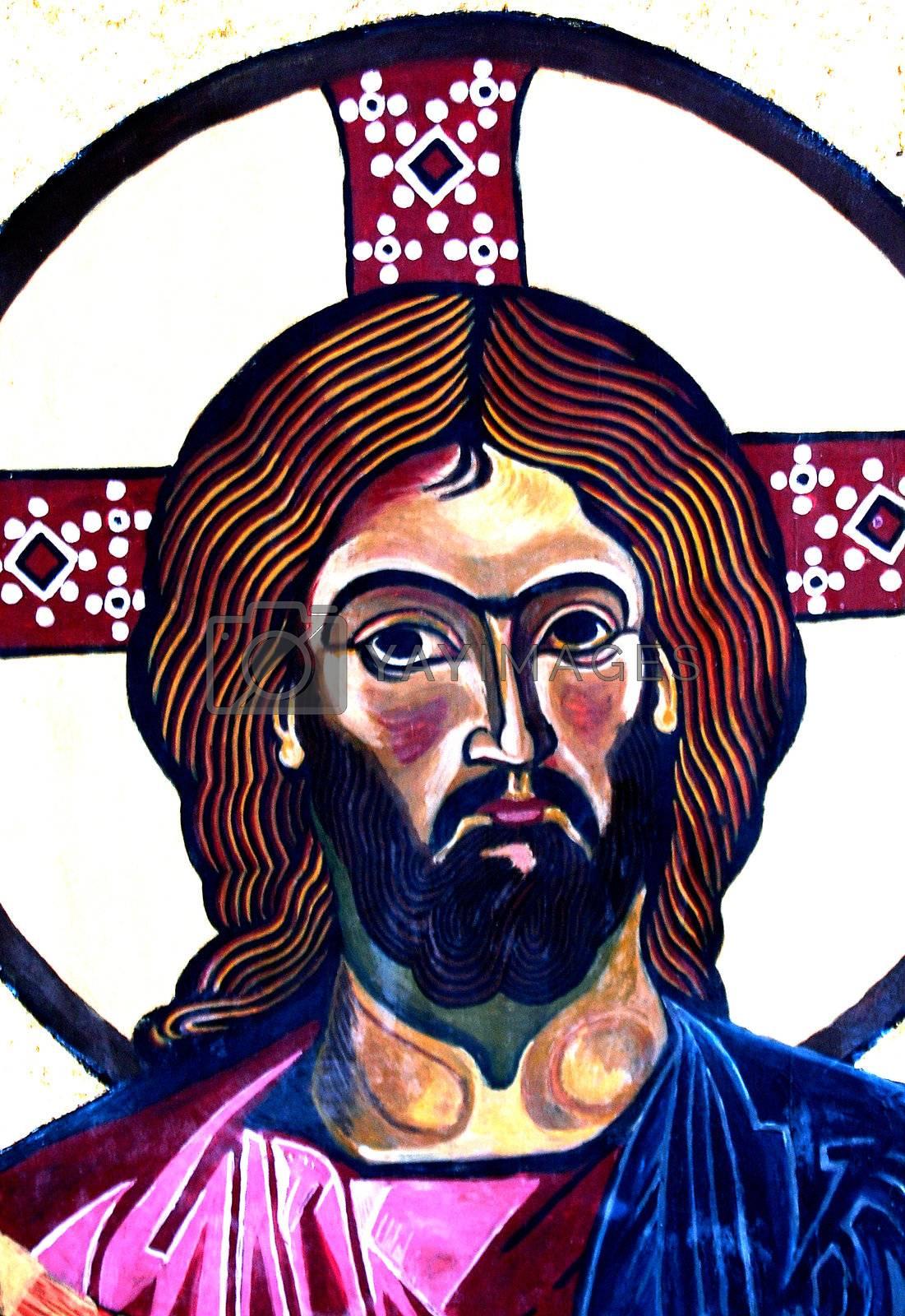 jesus christ frescoe