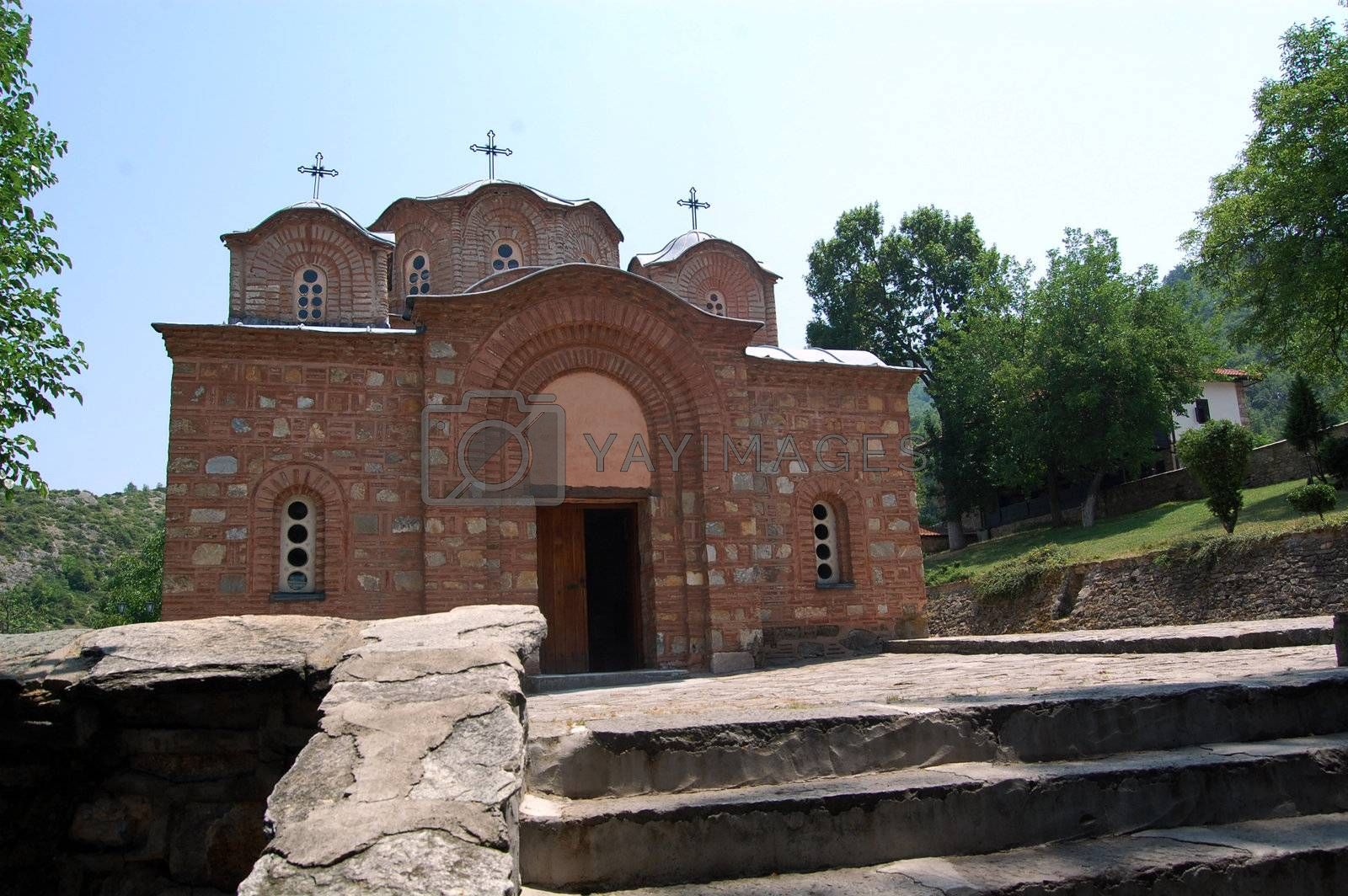 church saint panteleymon in skopje , macedonia