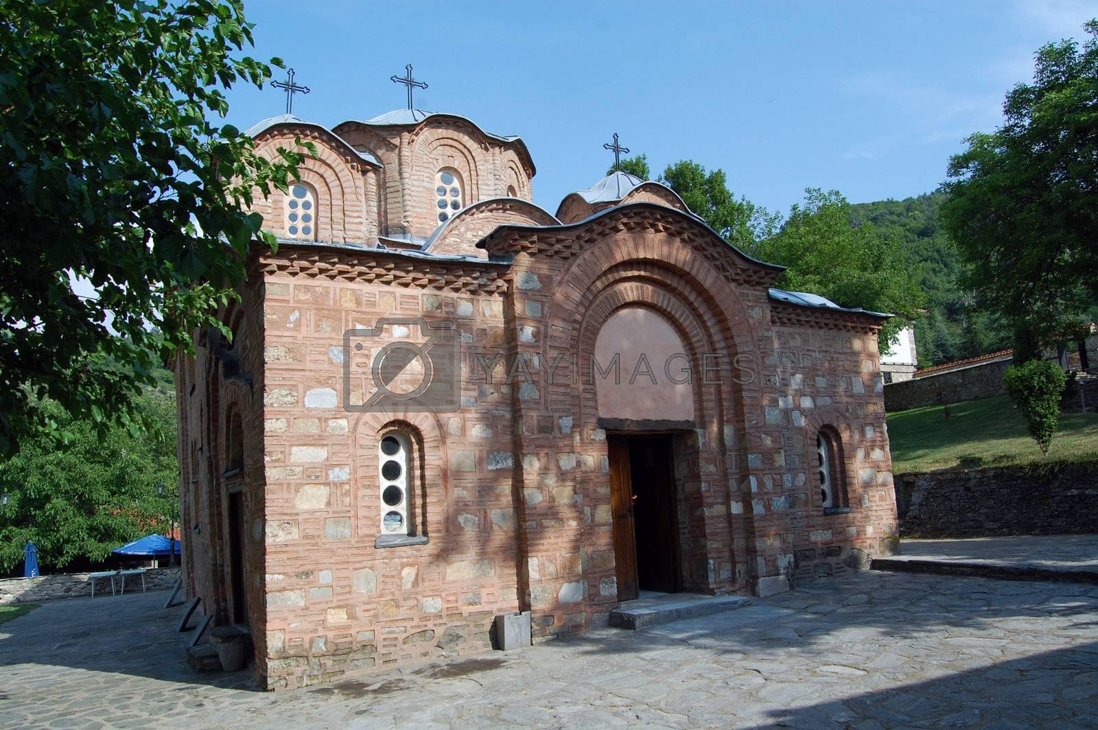 church saint panteleymon in skopje, republic of macedonia