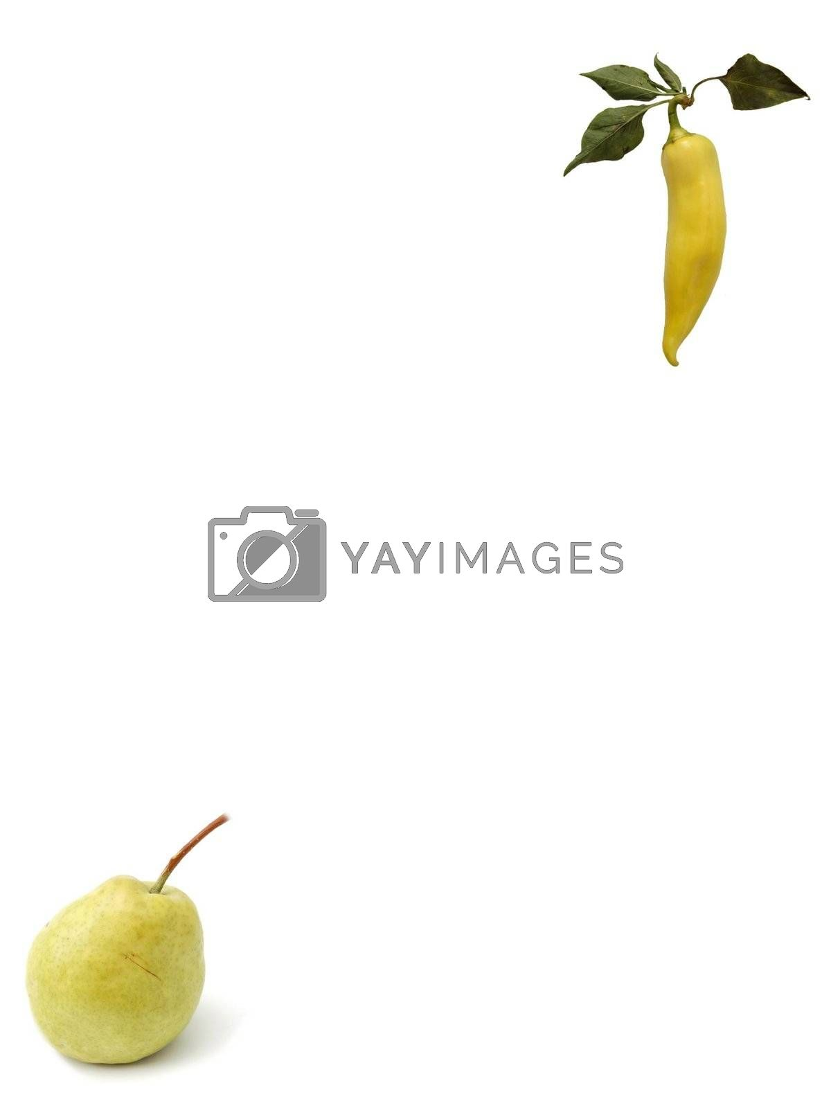 pepper and pear