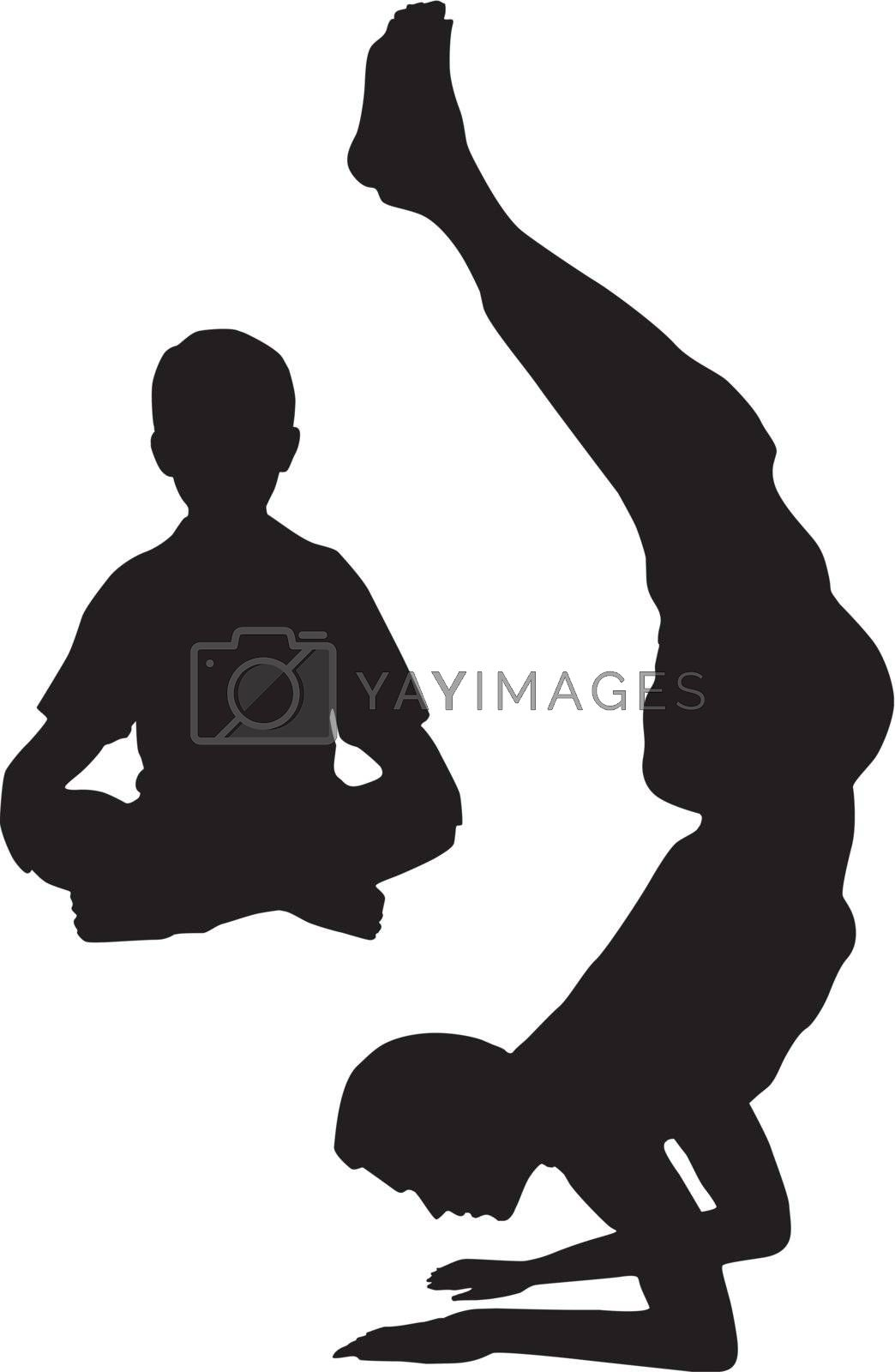 Yoga with dad