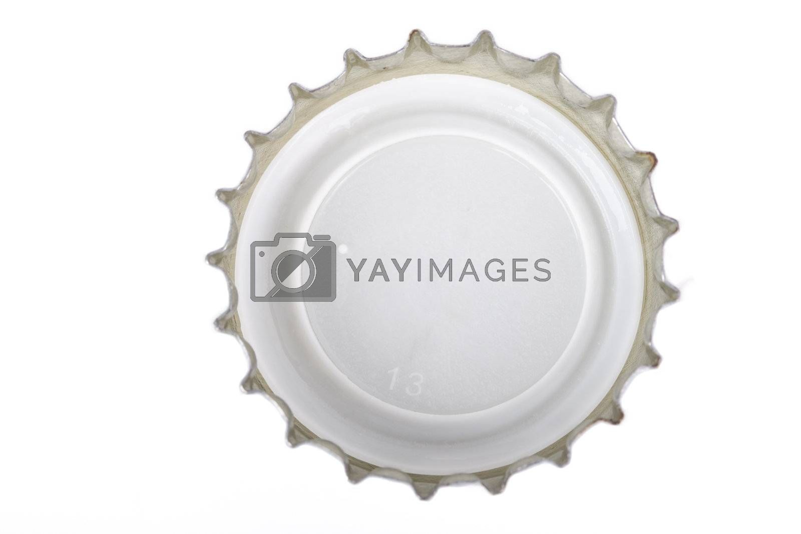 a single crown cap with the number 13 on white background