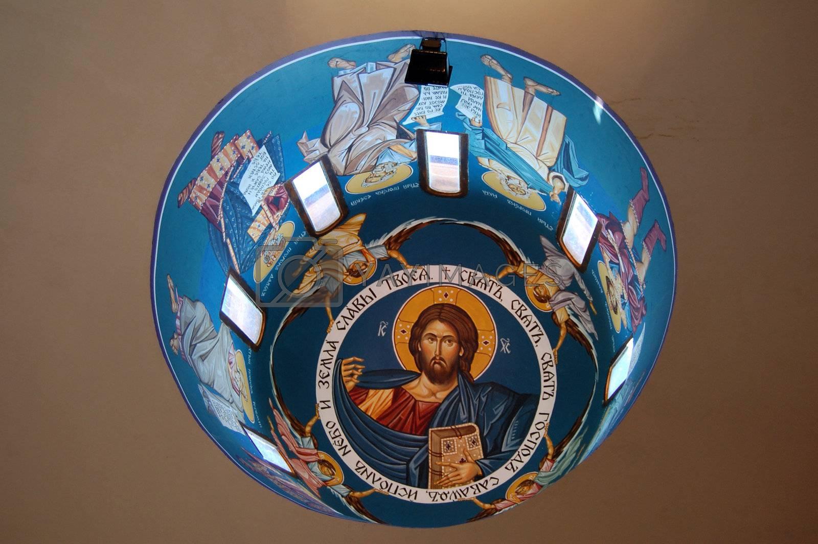 fresoe of jesus christ