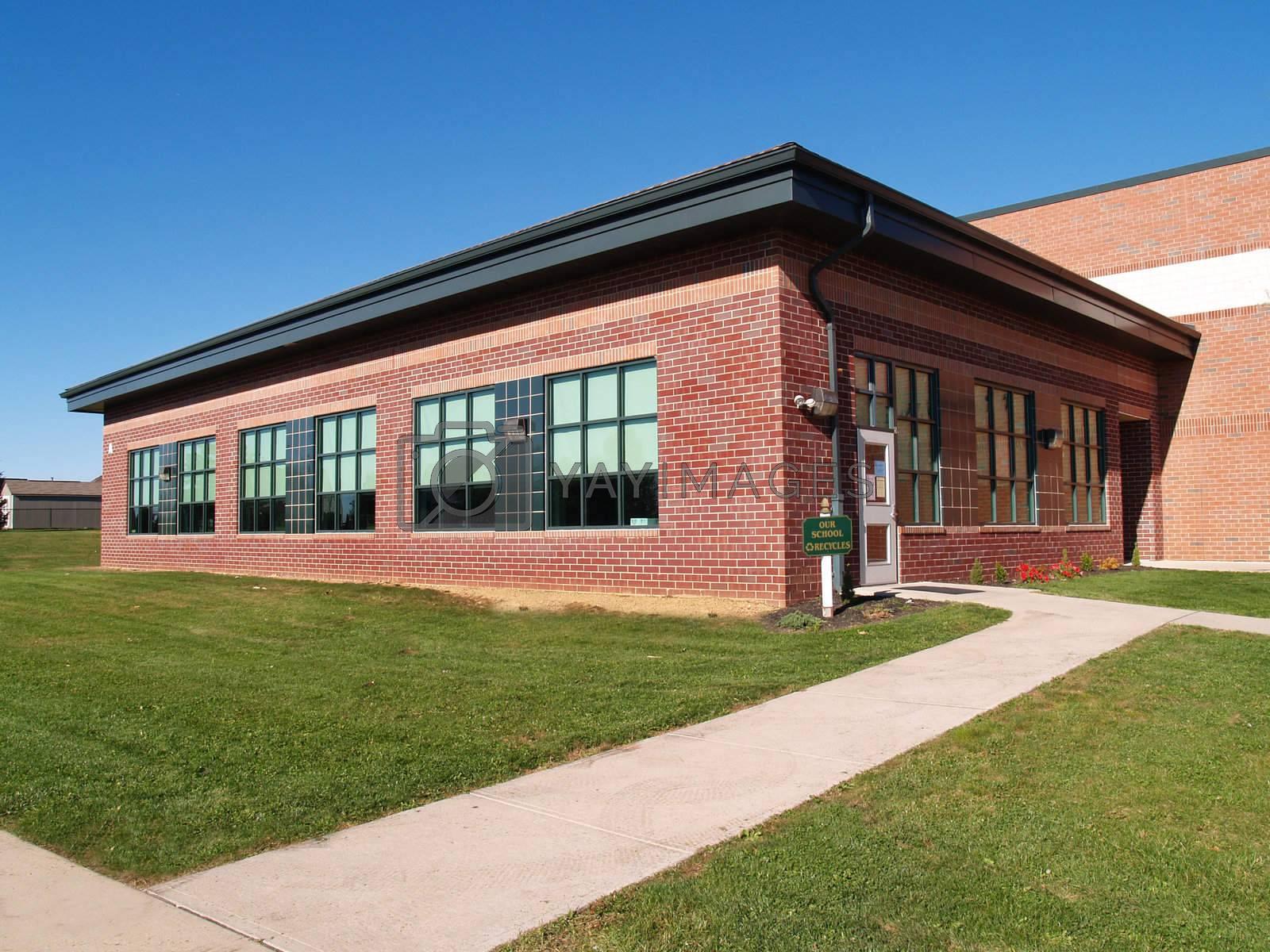 red brick elementary school in New Jersey