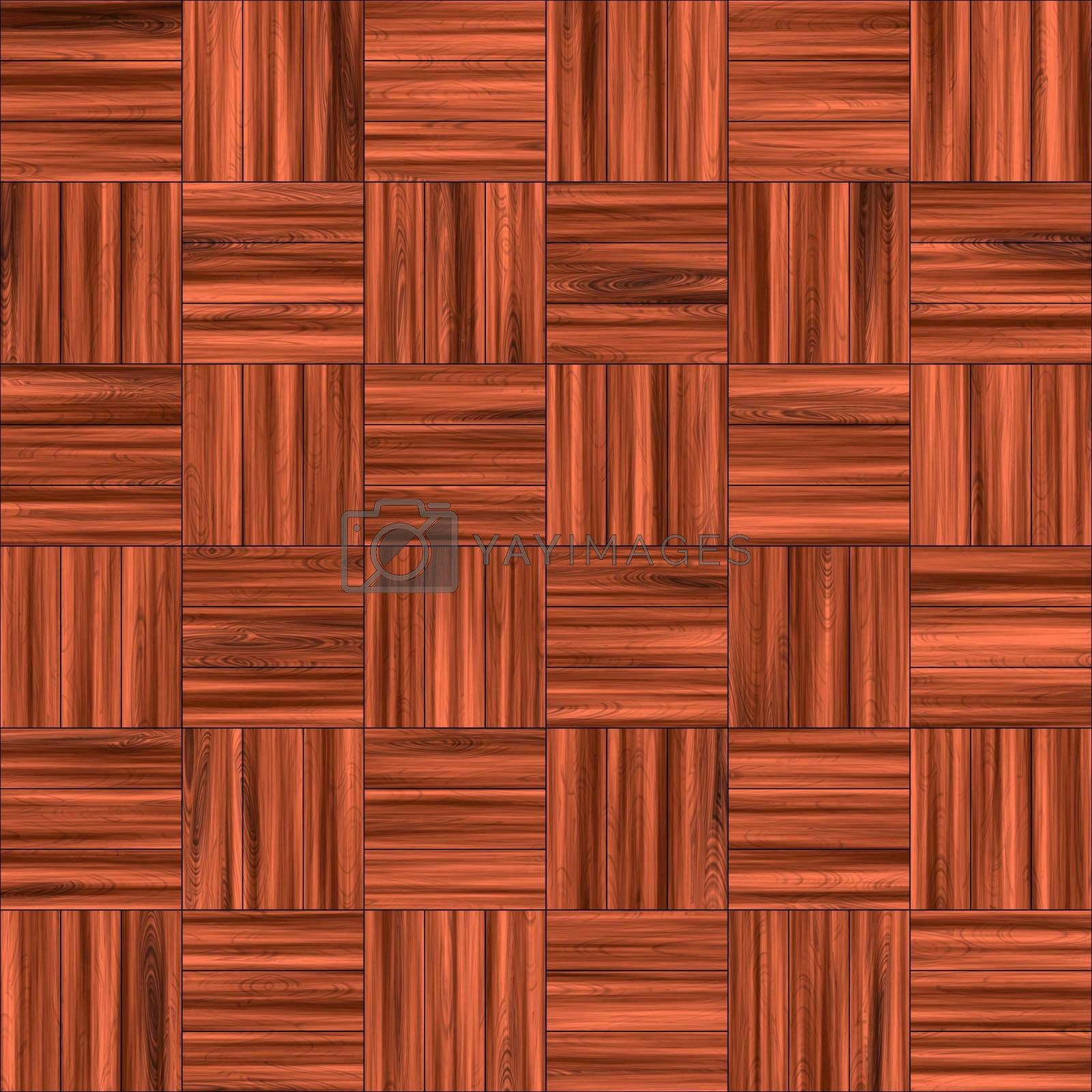 A wooden parquet floor pattern tiles seamlessly as a background.