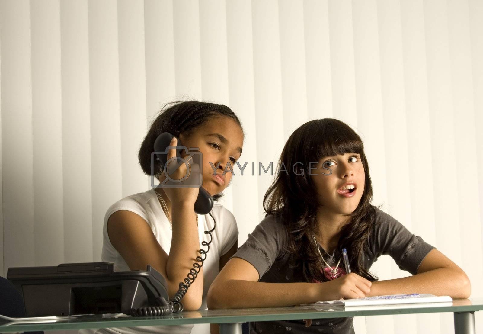 Teen Friends by hixson