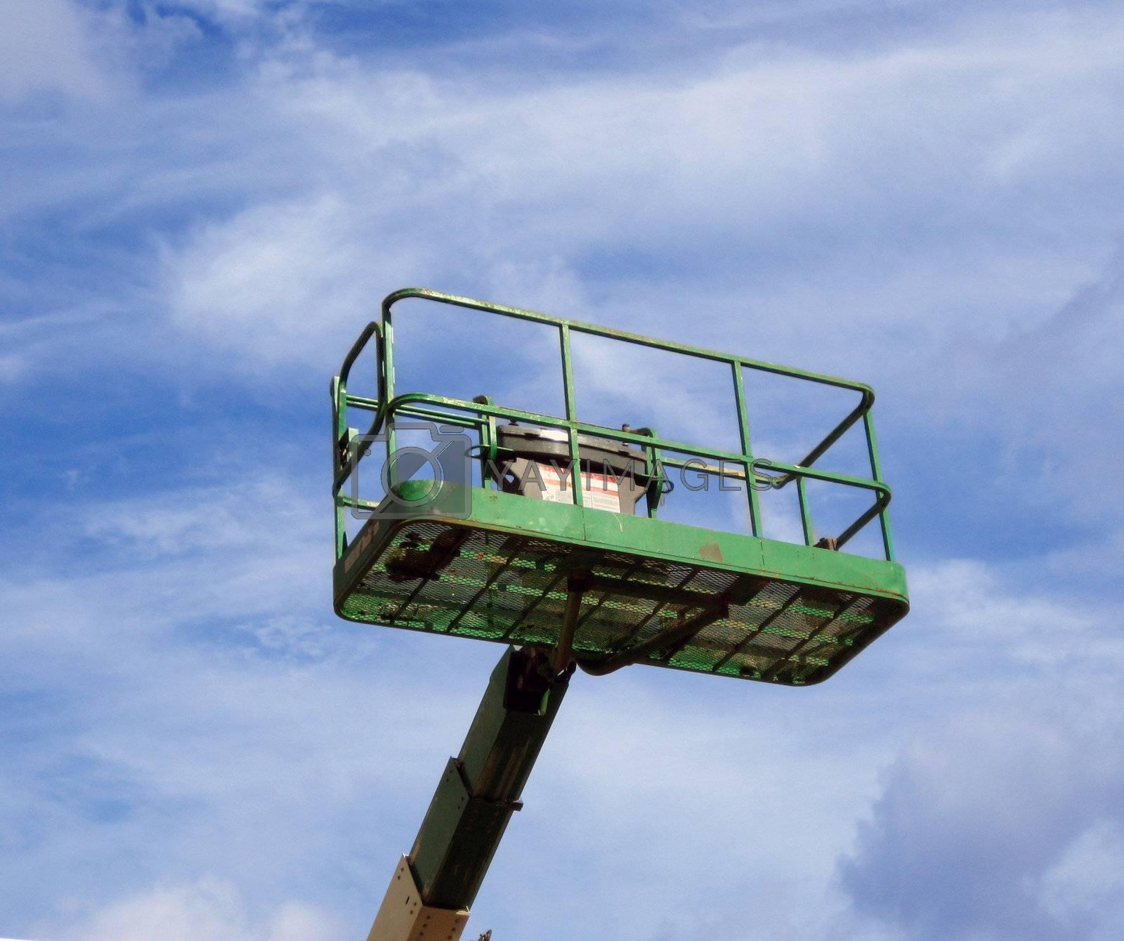 Green Mechanical Lift by jclardy