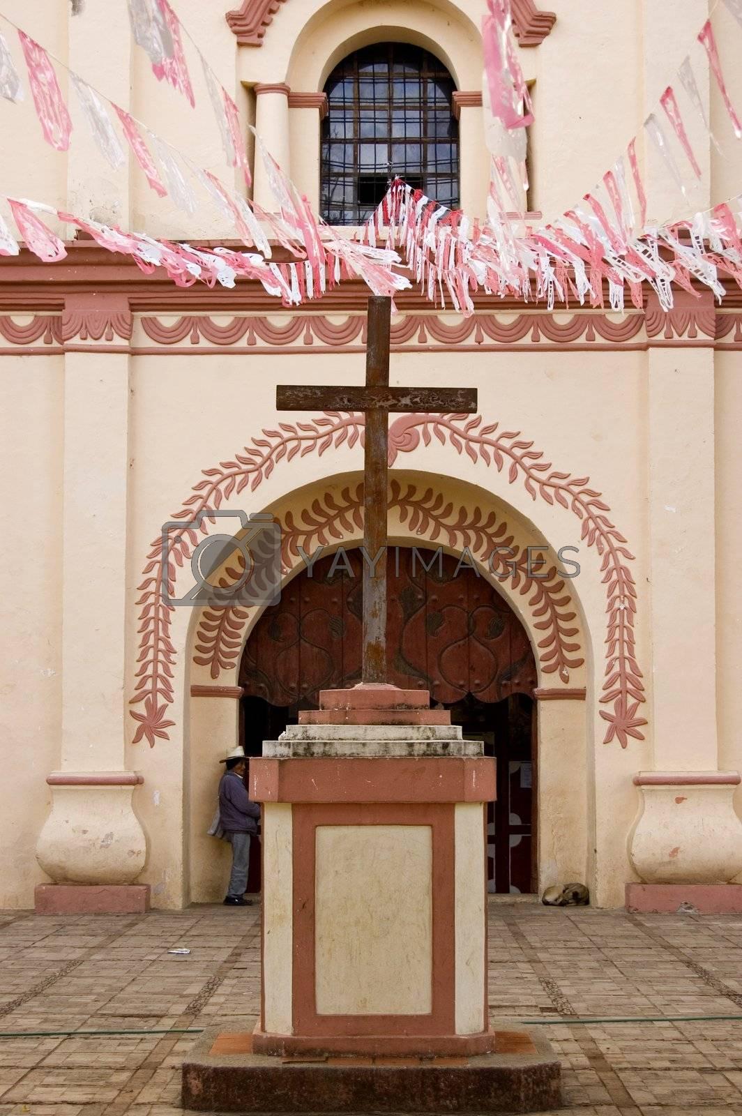 Cross in Chiapas by jorgeinthewater
