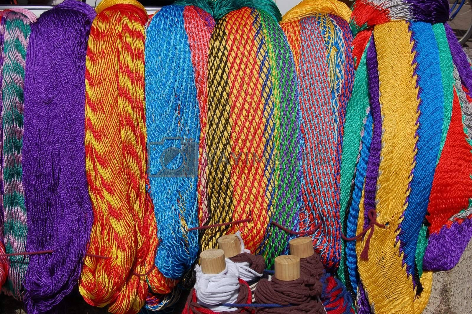 Hammocks for Sale in Chiapas by jorgeinthewater