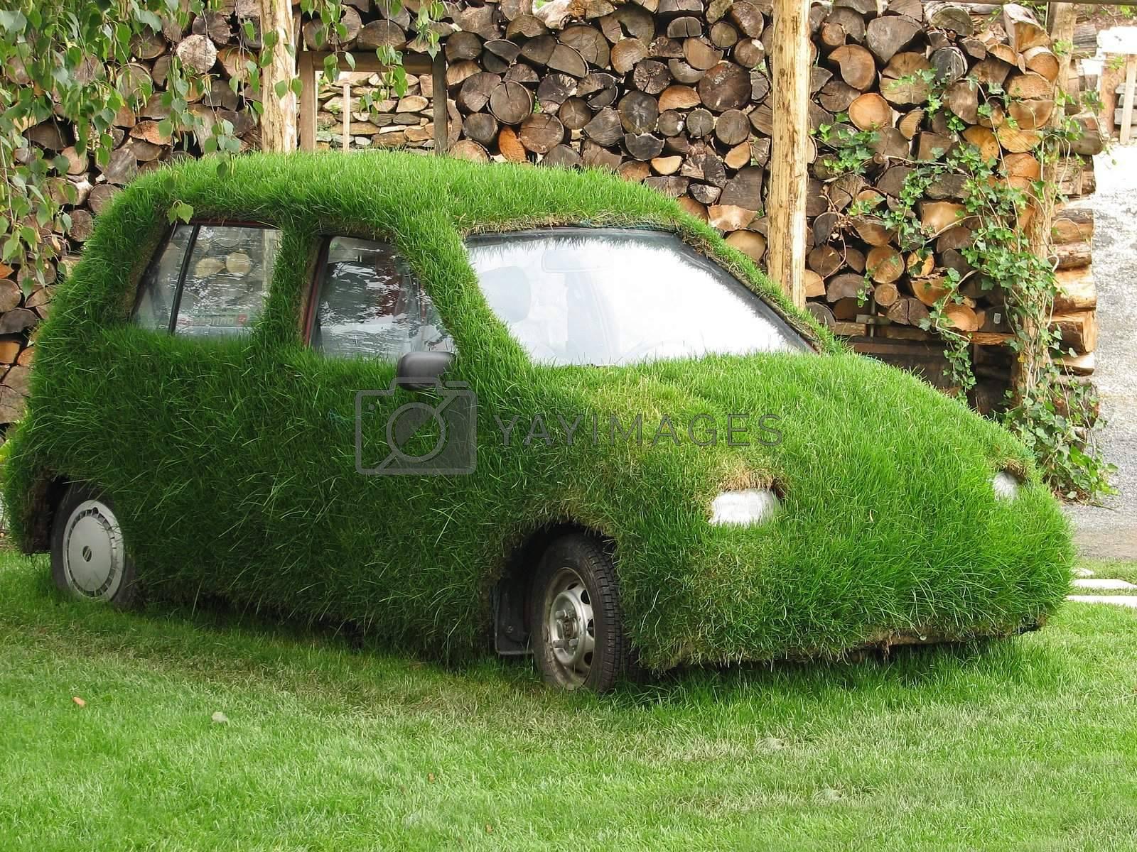 Green car by tuku