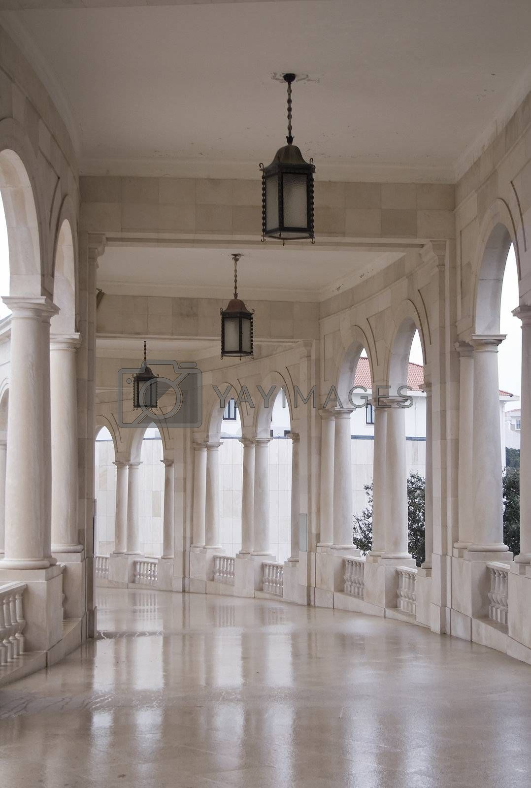 Ancient hallway by PauloResende