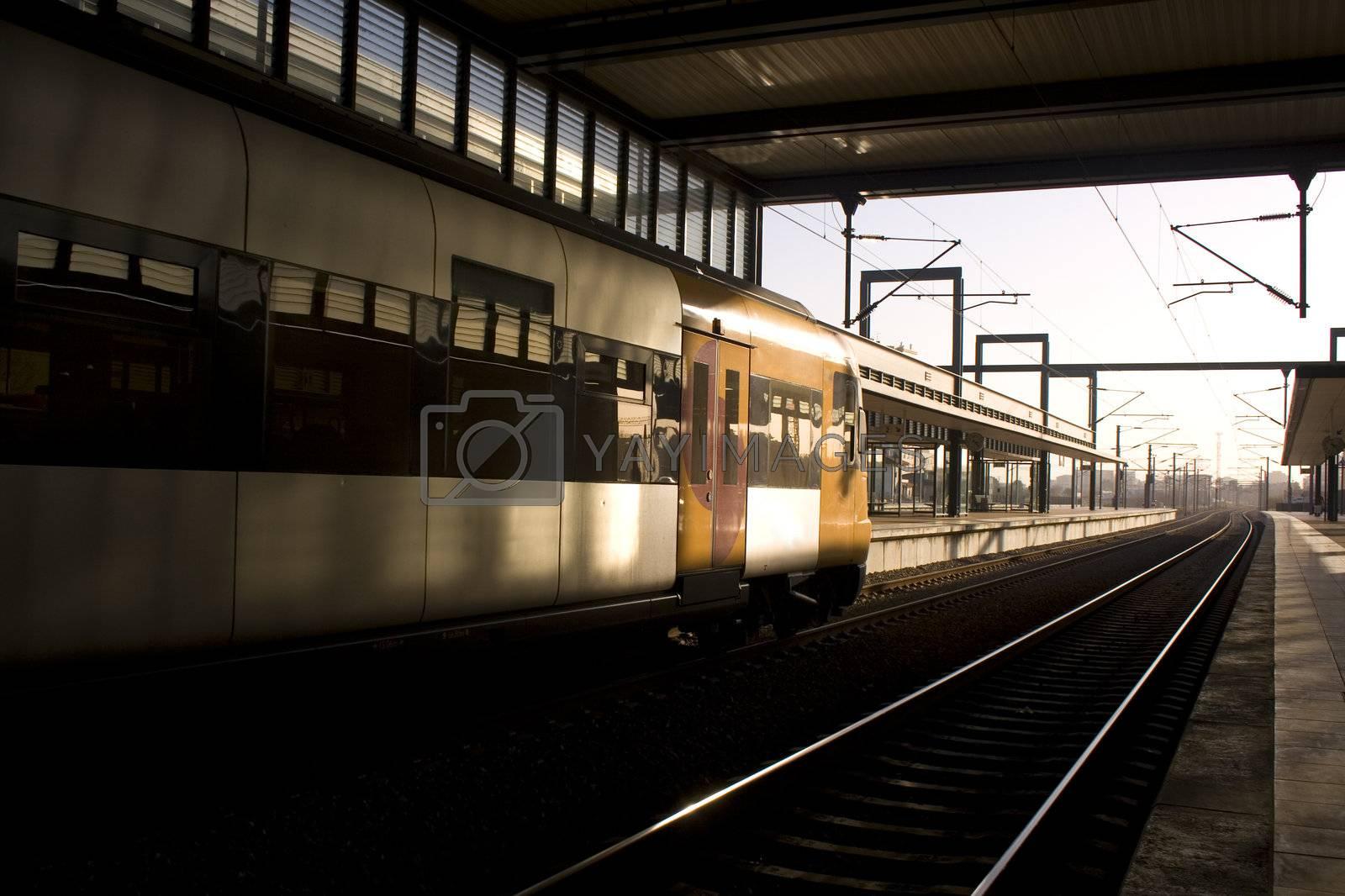 Departing Train by PauloResende