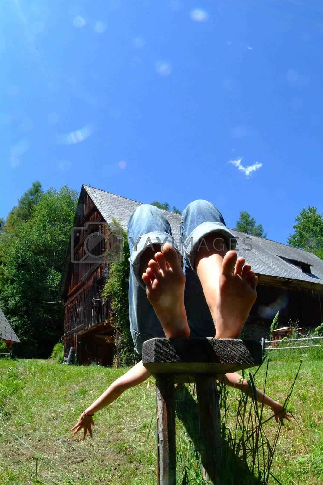 Erholung auf der Alm | resting at the alp by fotofritz
