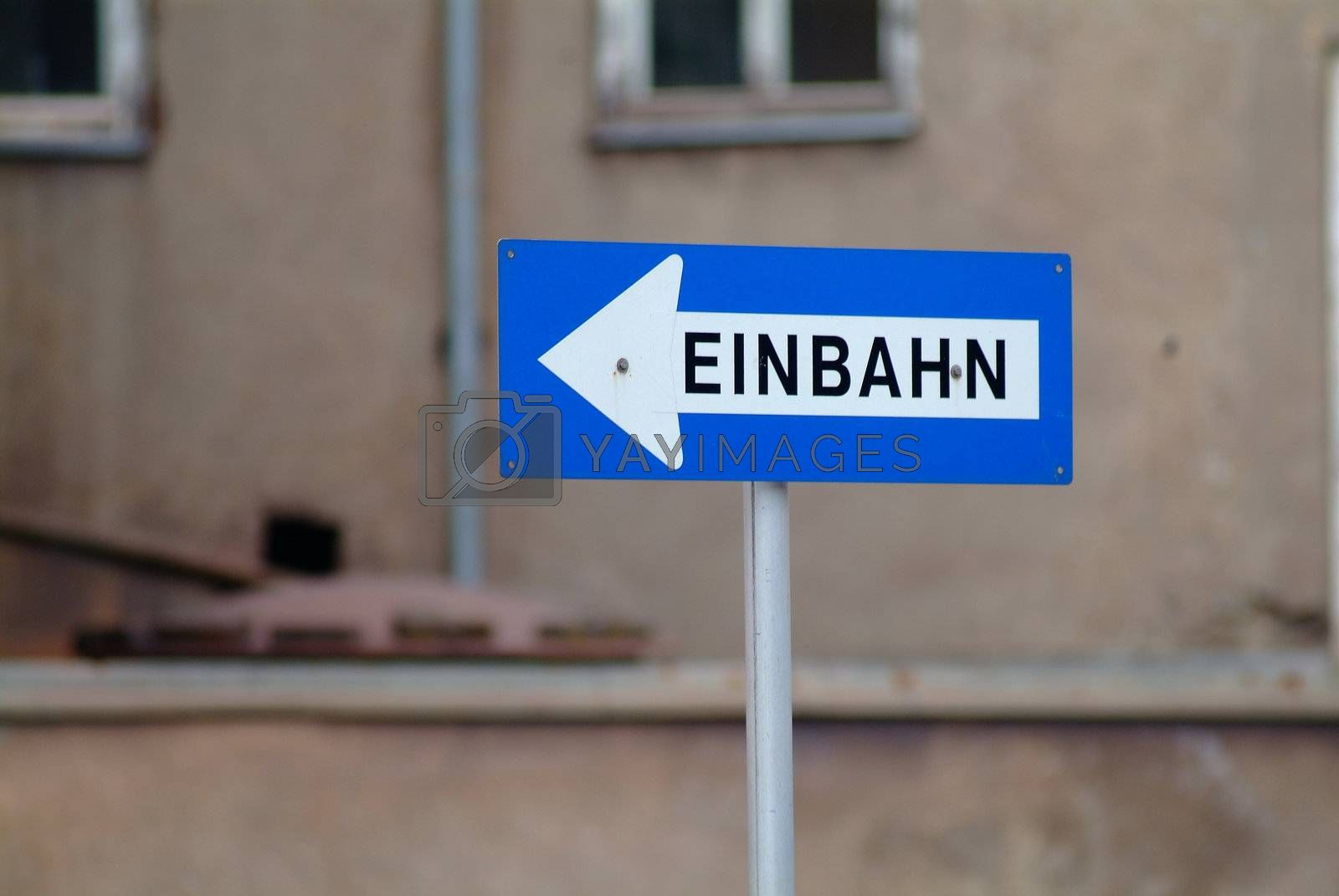 Einbahn | one way by fotofritz