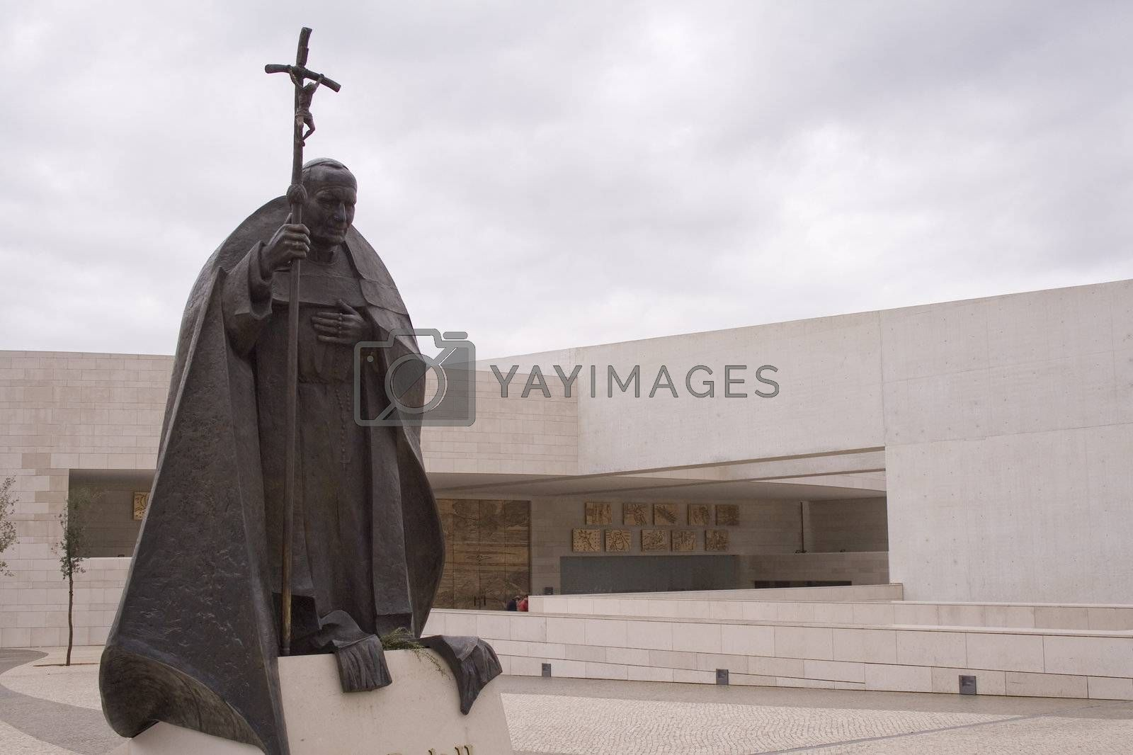 New cathedral in Fatima Portugal by PauloResende