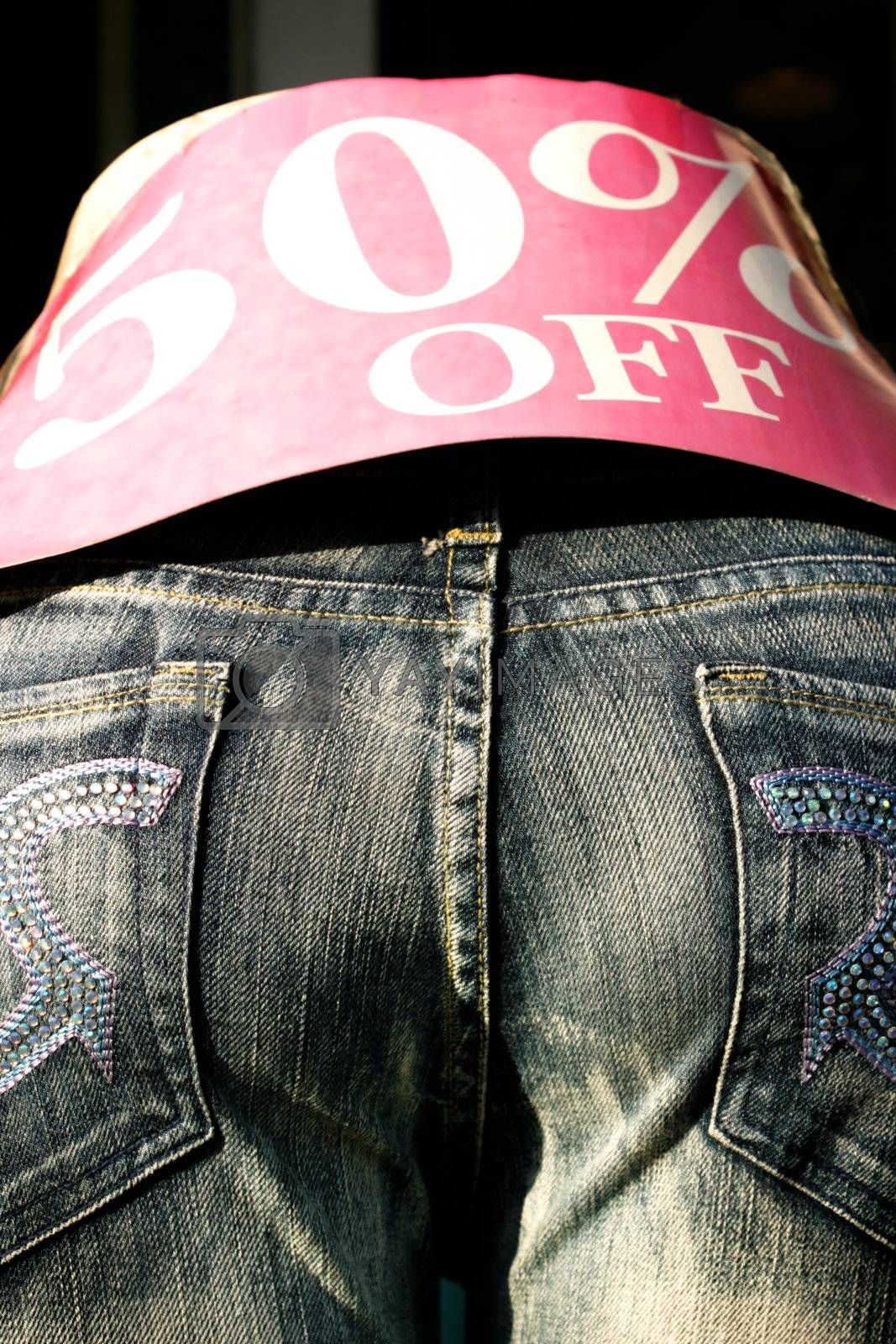 Fifty Percent Off by hlehnerer