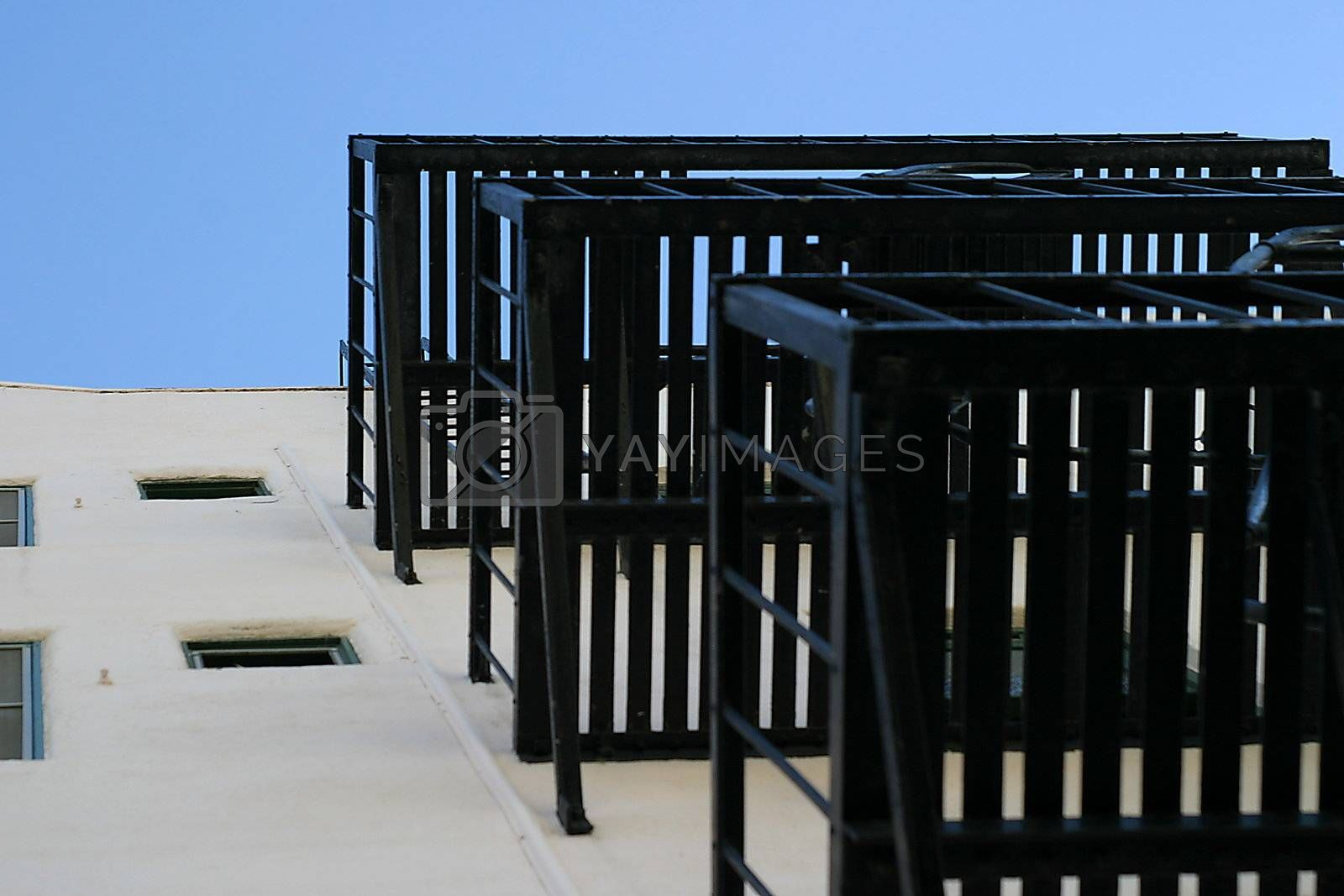 Fire Escape Stairs by hlehnerer