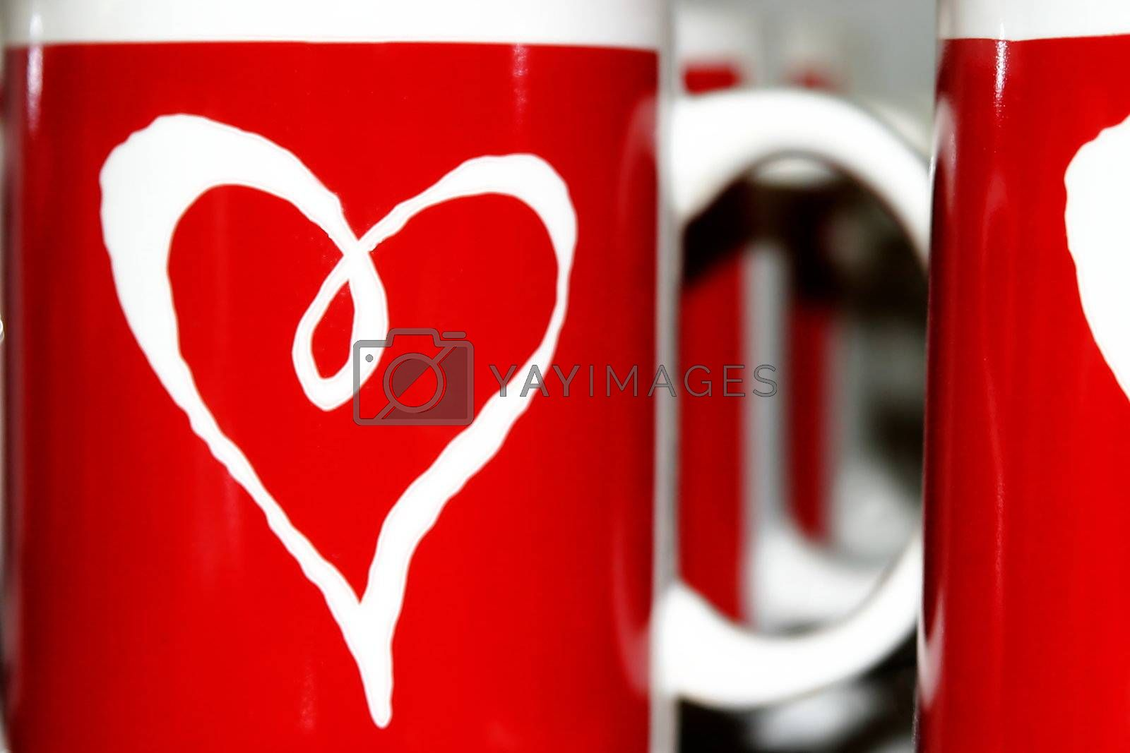 Heart Cups by hlehnerer