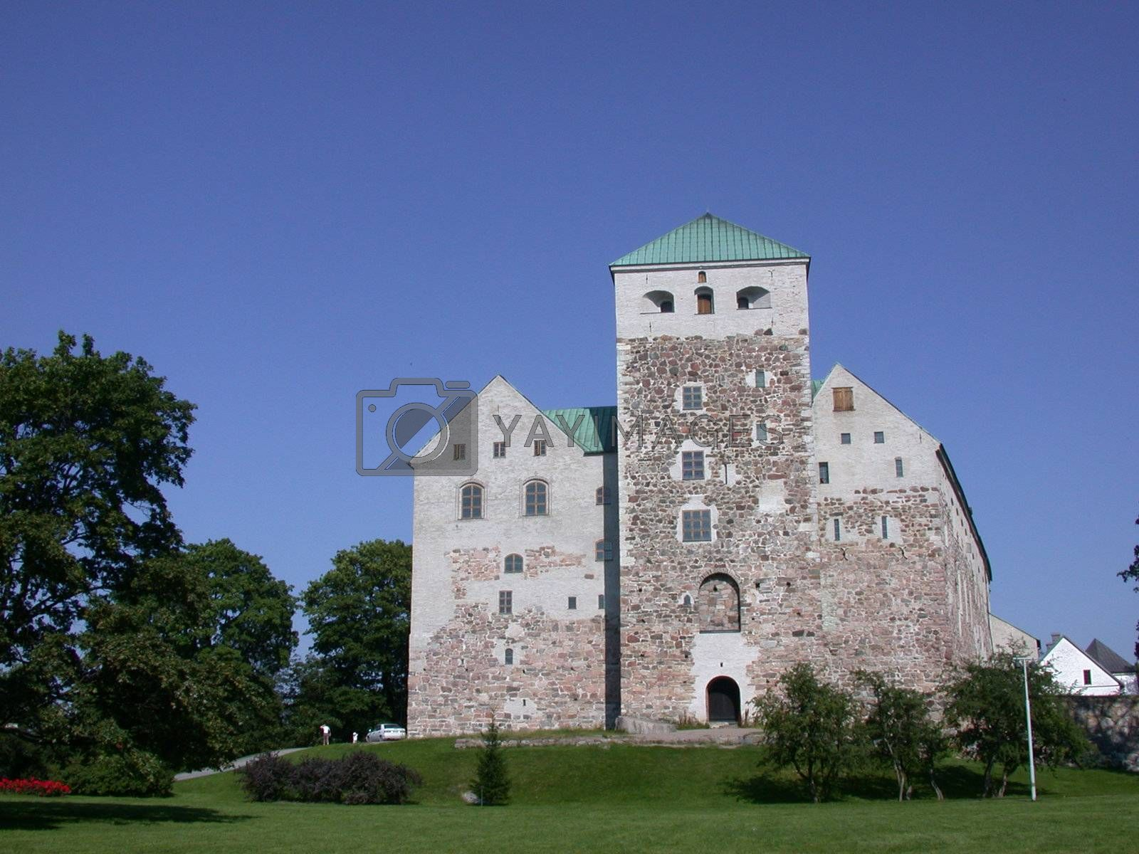 Medival castle in Turku (åbo), Finland